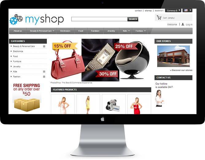 exemplu fully responsive web design