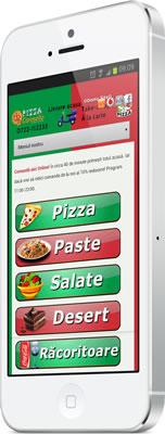 Web Design Restaurant Mobil