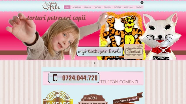 website 040 featured responsive cofetaria aidal