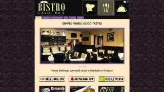 website 060 responsive restaurant bistro carol craiova