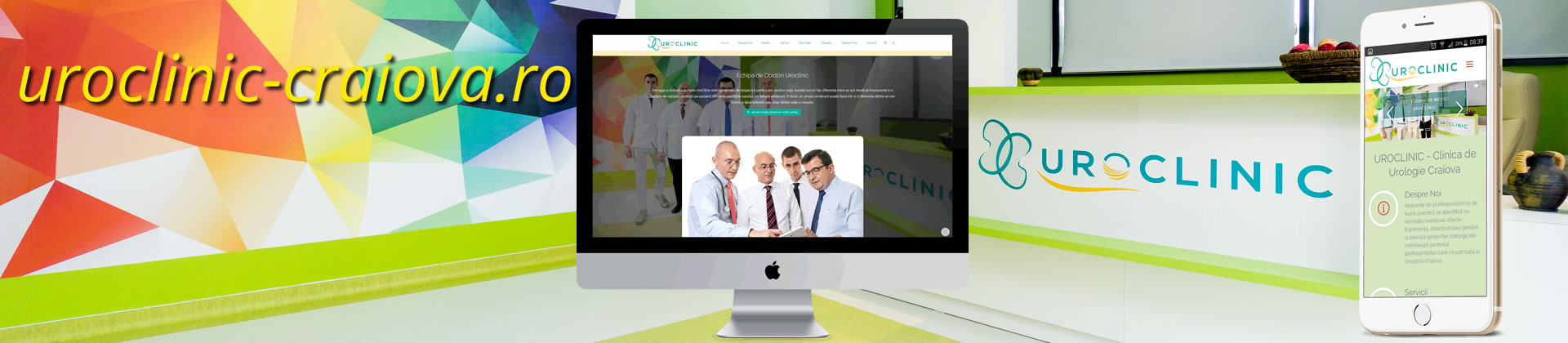 design-website-cabinet-medical-uroclinic-craiova-header
